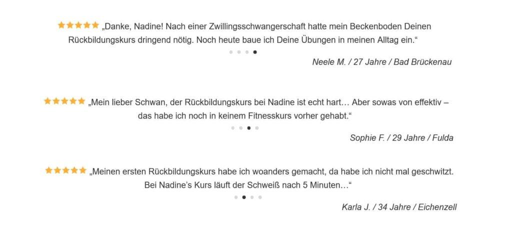 Nadine Beermann bewertungen - Familienwegweiser
