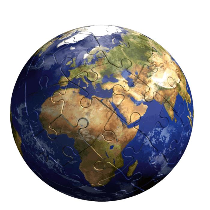 Kreativspielzeug - 3D Puzzle Erde