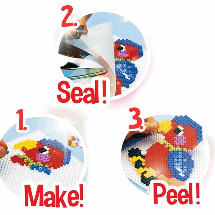 Kreativspielzeug - Bastelperlen, Bügelperlen