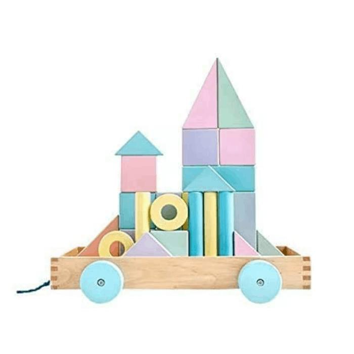 Kreativspielzeug - Bausteine Set aus Holz