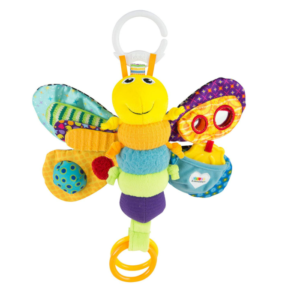 Motorikspielzeug Baby Greifring Baby Schmetterling