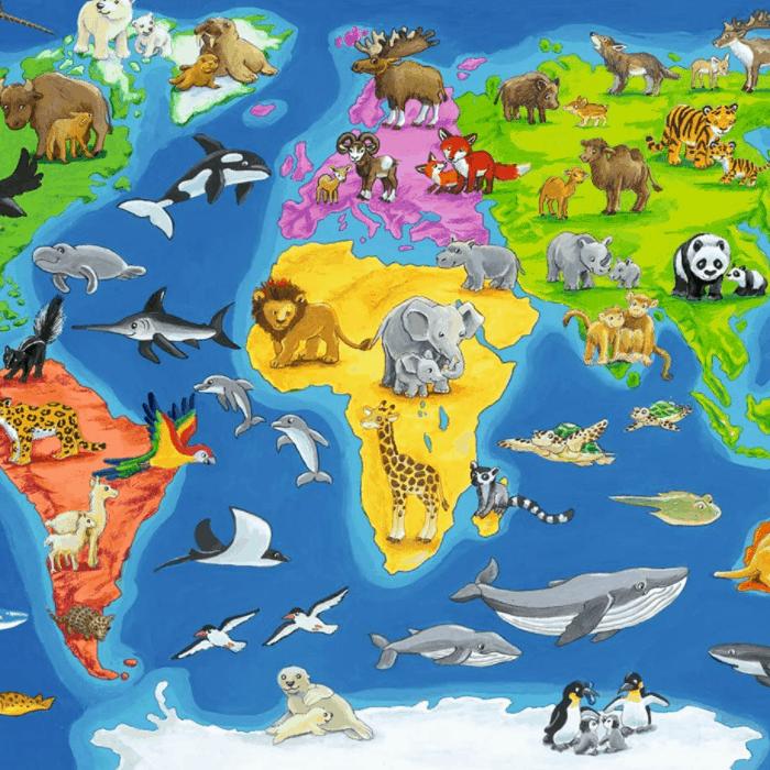 Kreativspielzeug - Puzzle ab 3 oder 4 Jahren