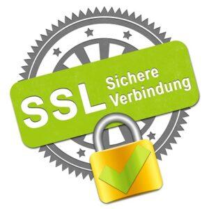 Siegel SSL Verbindung Stempel+Schloss
