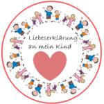Liebeserklärung an mein Kind Logo
