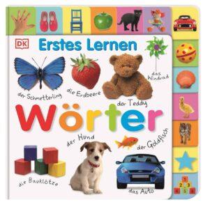 Familienbücher - Wörter (Erstes Lernen) Pappbilderbuch mit Griff-Register