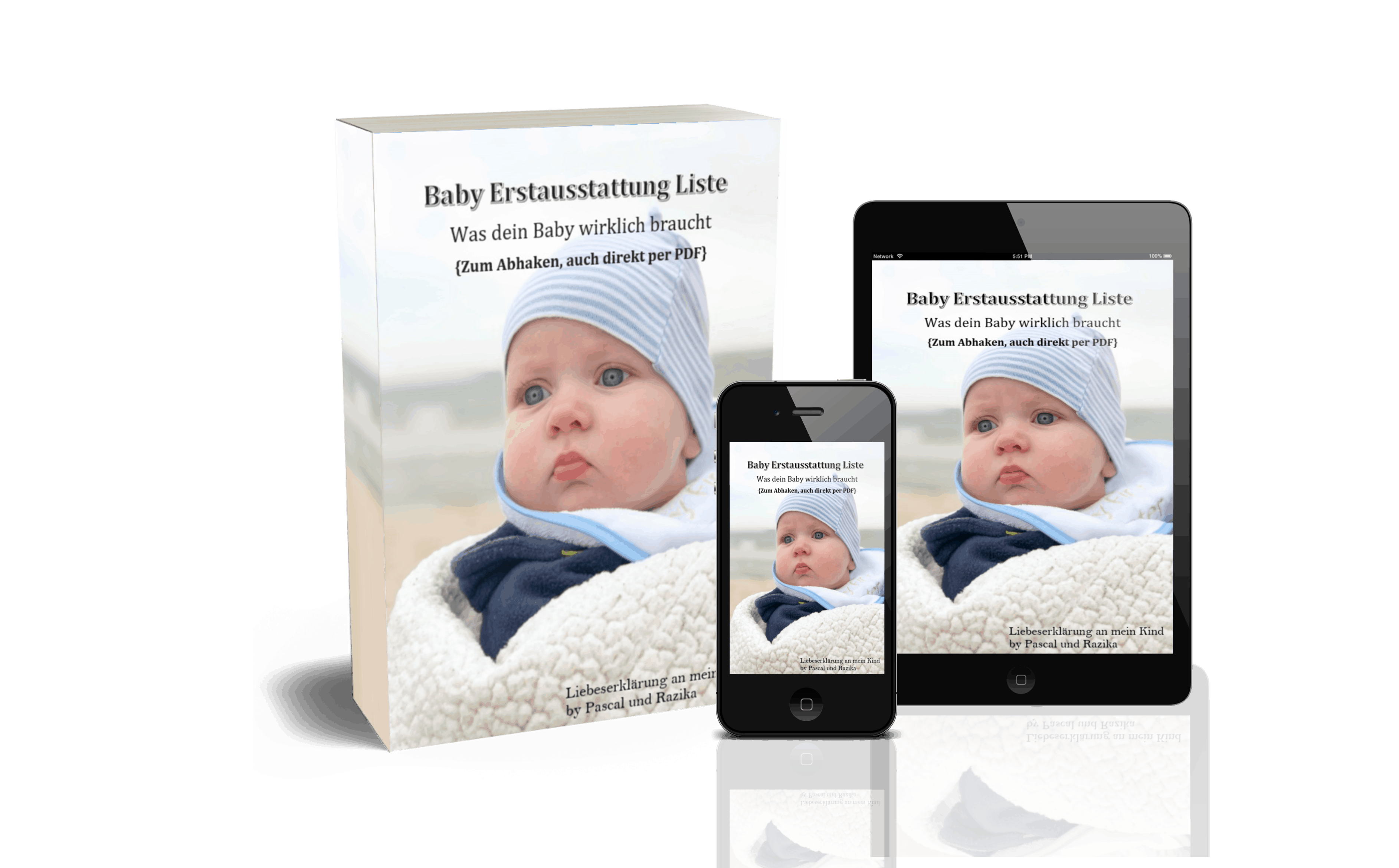Baby Liste - 3D Cover komplett